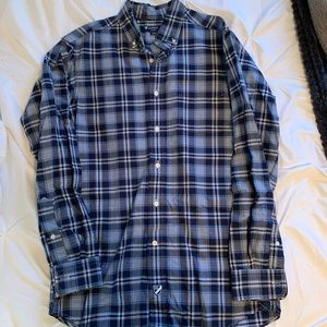 Cremieux button down casual shirt small